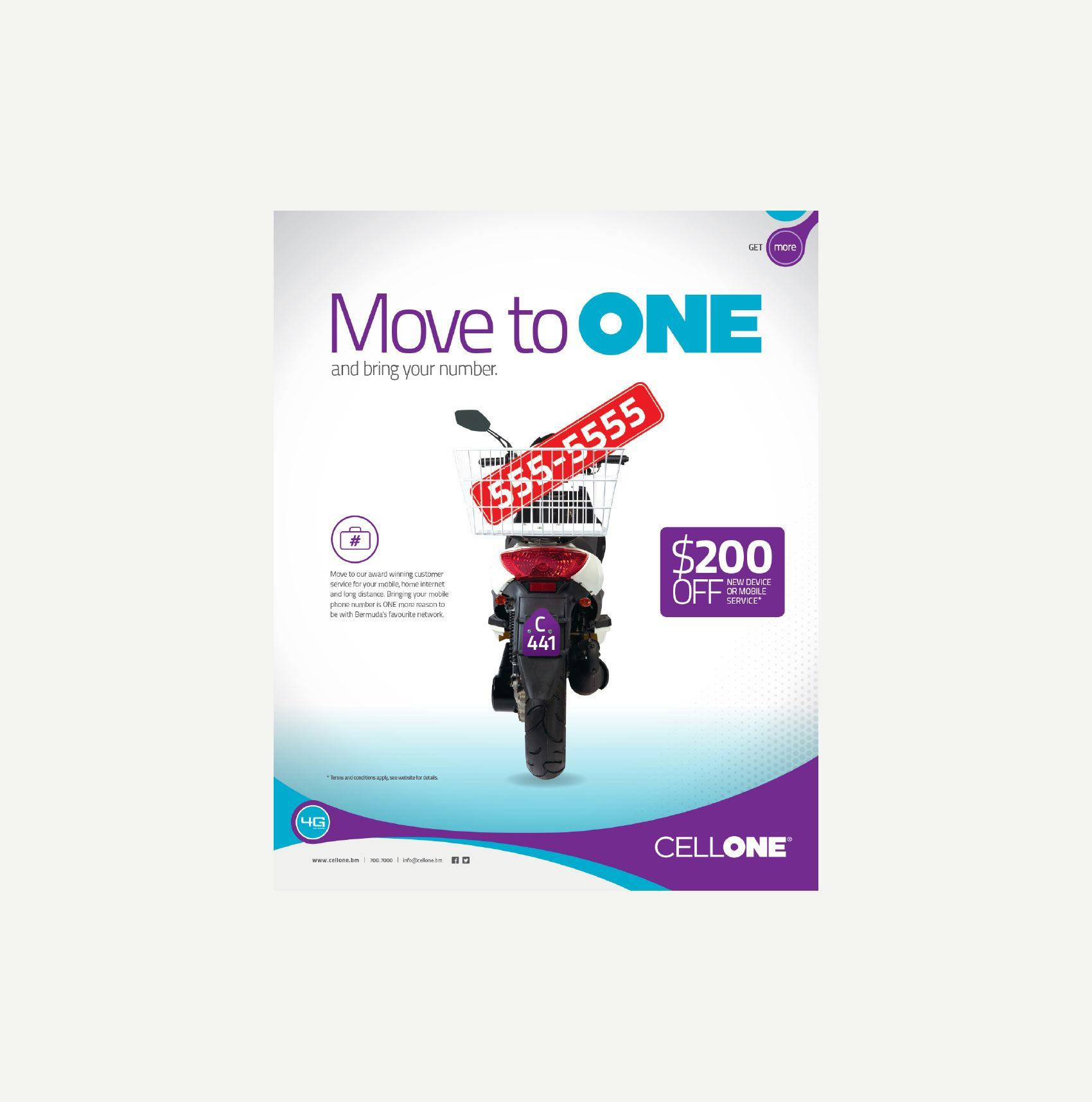 CELLONE - Number Portability Ad Campaign